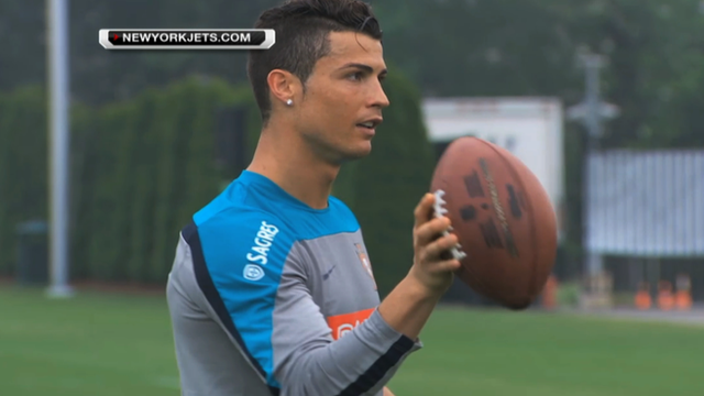 World Cup 2014: Cristiano Ronaldo & Portugal train with New York Jets