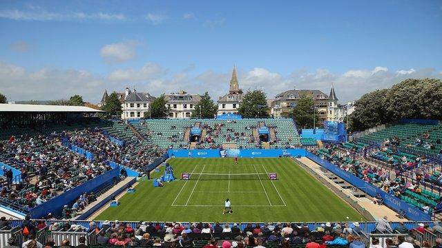 Live Tennis: Eastbourne 2015