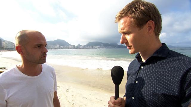 Dan Walker and former England international Danny Murphy