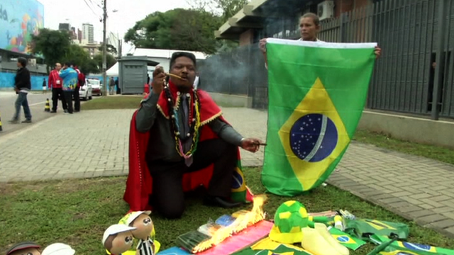Brazil will not win the World Cup according to one witch doctor