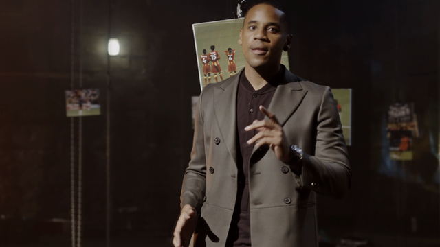 Reggie Yates says African football has 'come a long way'
