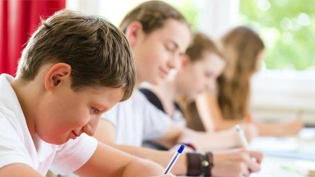 Children in test