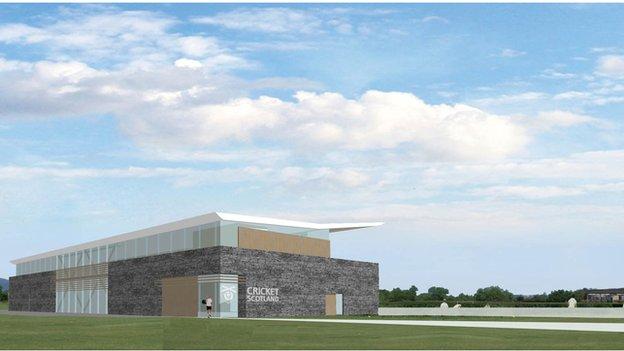 New cricket pavilion