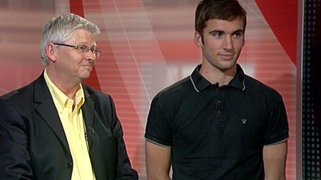 Ian Ridley and Seth Burkett