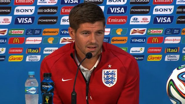 England captain Steven Gerrard says his team hold no fear ahead of their opening fixture against Italy in the Fifa 2014 World Cup