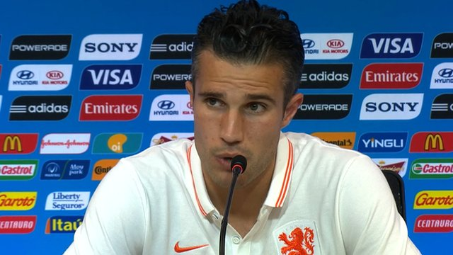 Netherlands striker Robin Van Persie says his side could have scored eight after the Dutch beat World Cup holders Spain 5-1 in Brazil