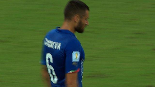 Italy's Antonio Candreva