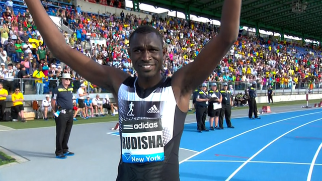 Diamond League: David Rudisha makes winning 800m return in New York