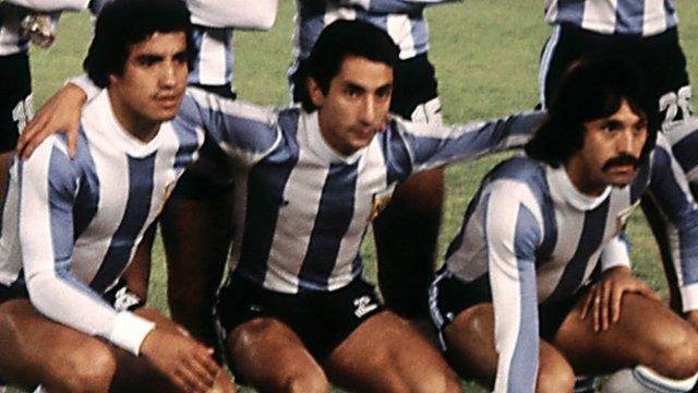Argentina's Osvaldo Ardiles in 1978 final