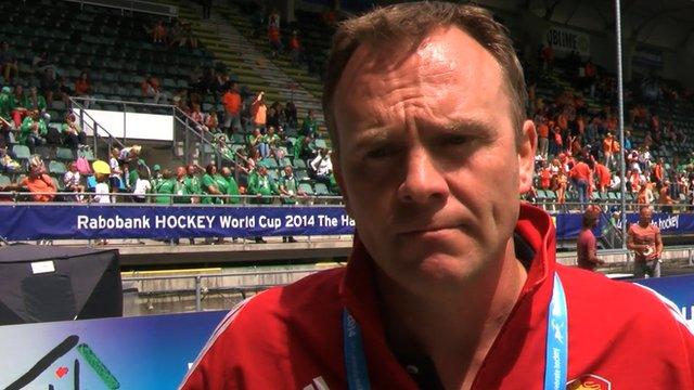 "Coach Bobby Crutchley admits a medal was a ""step too far"" for England"