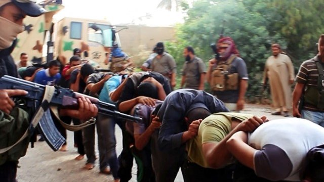 Soldiers said to have been captured by ISIS, 14 June 2014