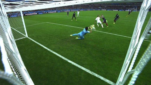 World Cup 2014: Karim Benzema denied his second goal