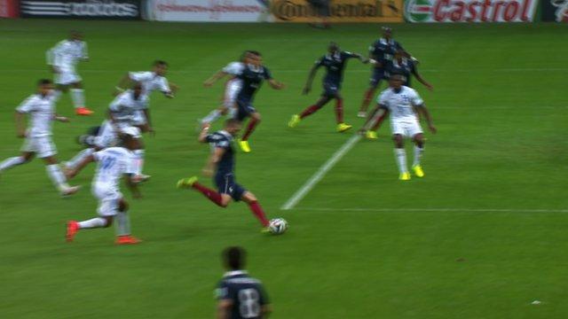 World Cup 2014: Karim Benzema fires French third