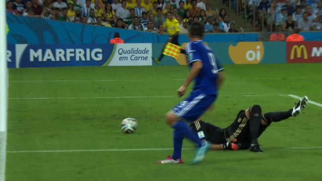 World Cup 2014: Bosnia-Hercegovina's first World Cup goal