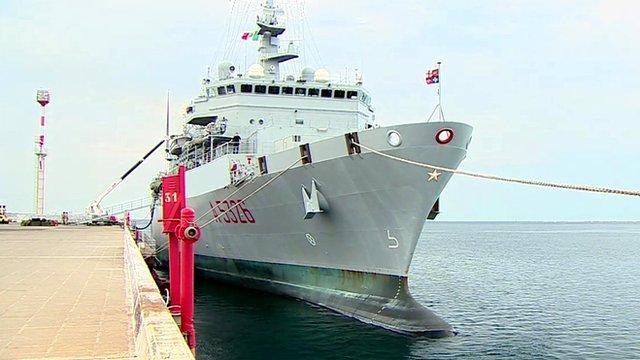 Italian naval ship ITS Etna
