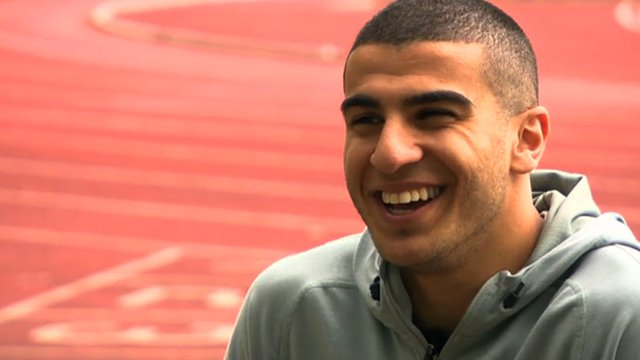 Sprinter Adam Gemili says he is targeting a medal at the 2014 Commonwealth Games in Glasgow