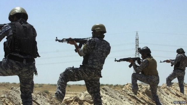 Iraq's security forces have come under huge pressure from the ISIS advance