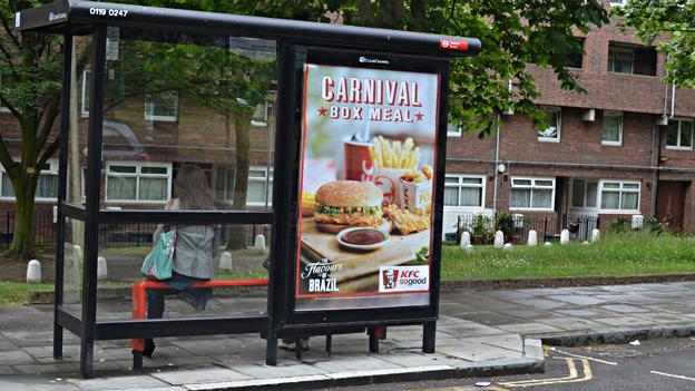KFC advert