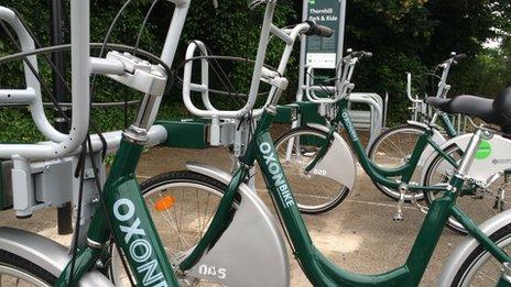 OxonBike bikes