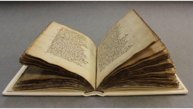 Repaired book