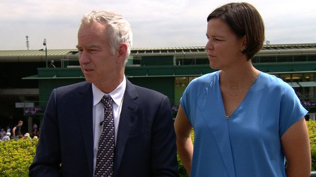 BBC Sport's John McEnroe says that Andy Murray wants to win more grand slam titles as the Scot begins his defence of Wimbledon