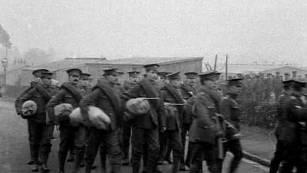 Soldiers at Morn Hill Camp