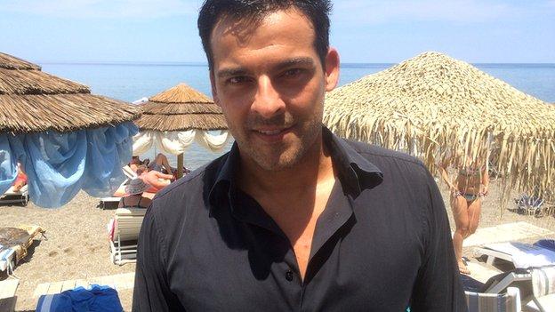 Manos Arvanitakis. June 2014