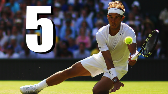 Wimbledon 2014: Nadal v Klizan - the five best points