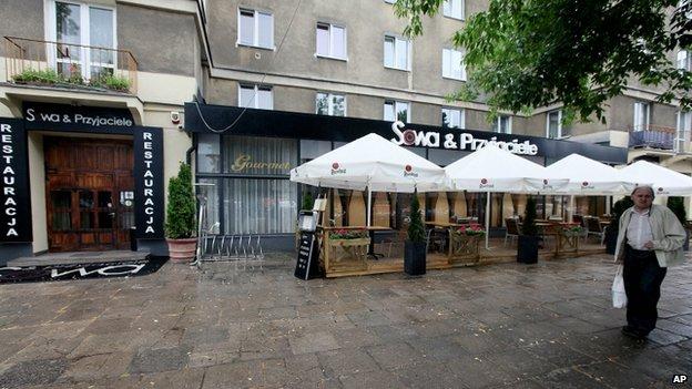 Sowa i Przyjaciele restaurant in Warsaw, 20 June