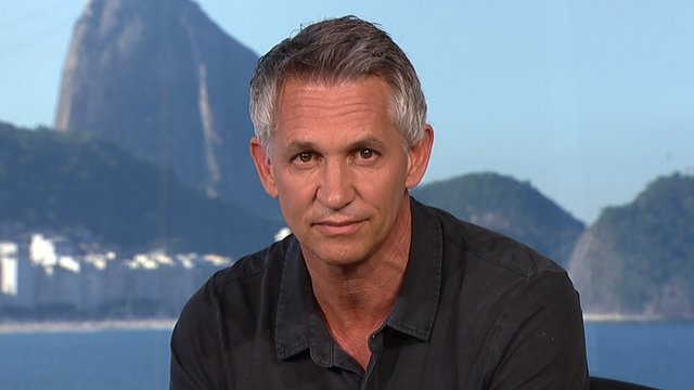Gary Lineker assesses the future of Luis Suarez after he appears to bite Italy's Chiellini