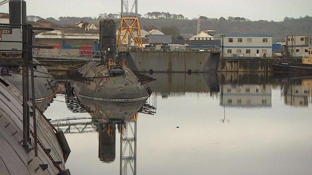 Devonport submarines