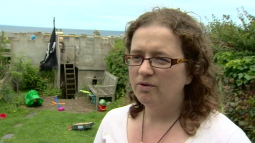"Joanne Courtney from Moira also educates her three children at home and said it was working ""extremely well"""