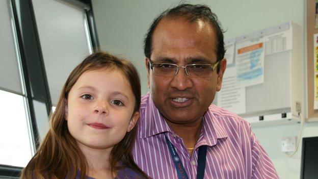 Josephine and Dr Varadarajan Kalidasan