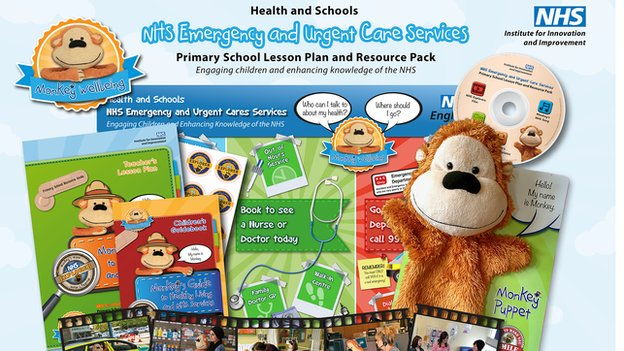 The Monkey Health and Wellbeing pack