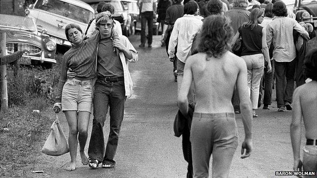 Woodstock refugees