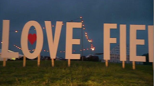 Glastonbury's Love Field