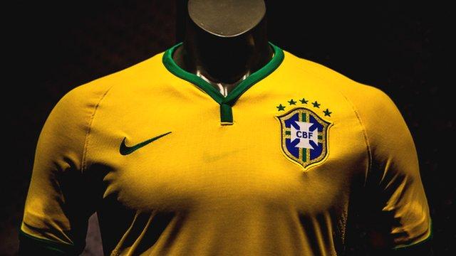 Brazil's latest football shirt