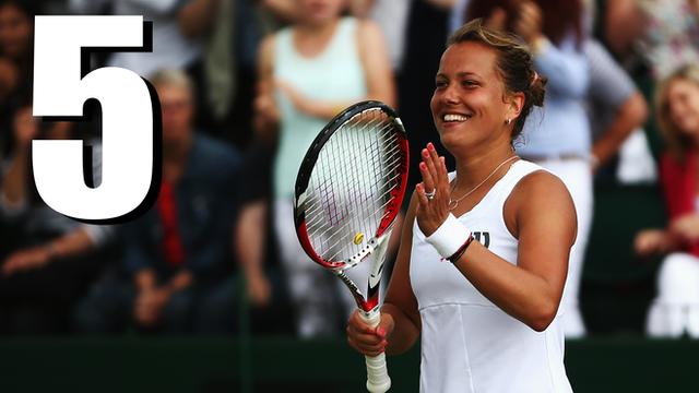 Wimbledon 2014: Barbora Zahlavova Strycova upsets Caroline Wozniacki