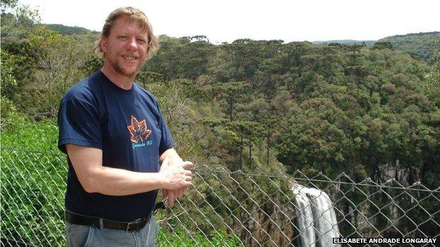 Alan Fear in Brazil