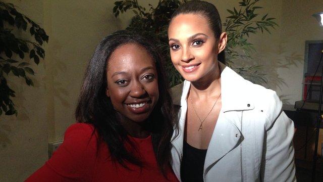 Ayshah and Alesha Dixon