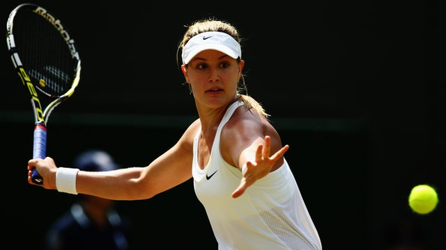 13th seed Eugenie Bouchard