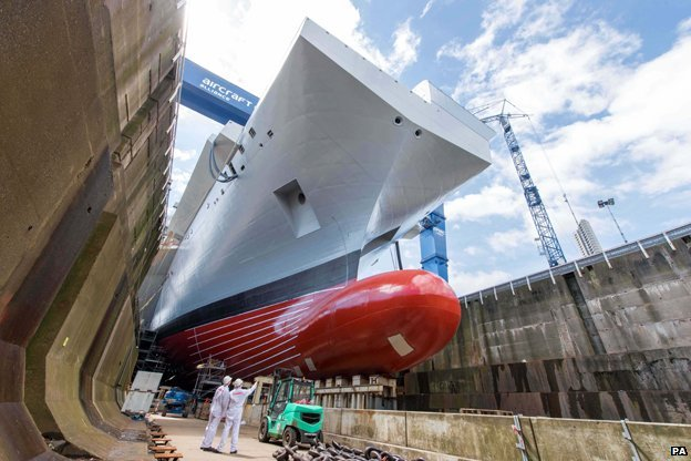 New Queen Elizabeth aircraft carrier