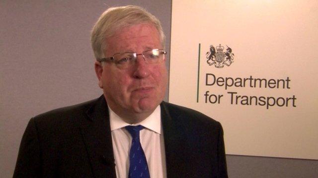 British Transport Secretary Patrick McLoughlin