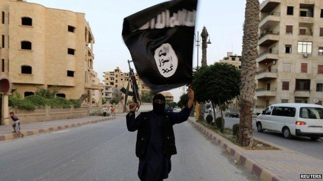 An Isis militant. Photo: June 2014