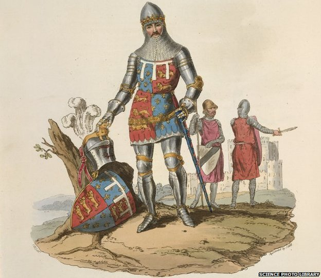 Illustration of Edward, Black Prince