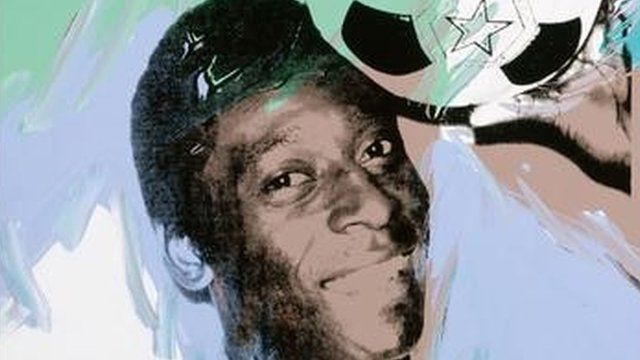 Andy Warhol's Painting of Pele