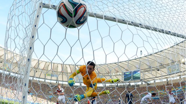 World Cup 2014: France 0-1 Germany highlights