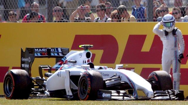 British Grand Prix: Susie Wolff's debut F1 weekend