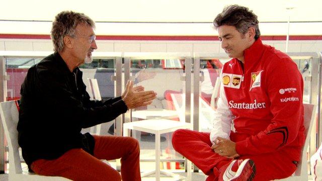 British Grand Prix: Eddie Jordan grills Ferrari boss Marco Mattiacci