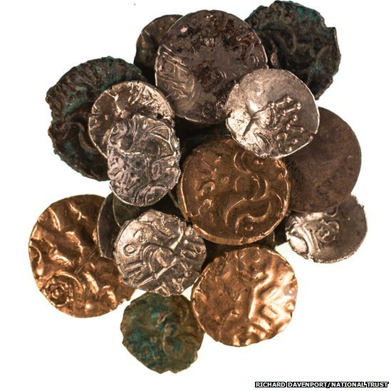 Roman and Iron Age coins
